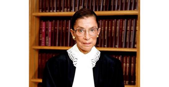 Donación de 9000 dólares por parte de la jueza de la Suprema Corte RBG a escuelas bilingües de hebeo y árabe