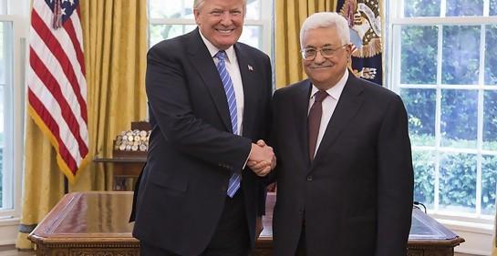 La guerra palestina contra el plan de paz de Trump