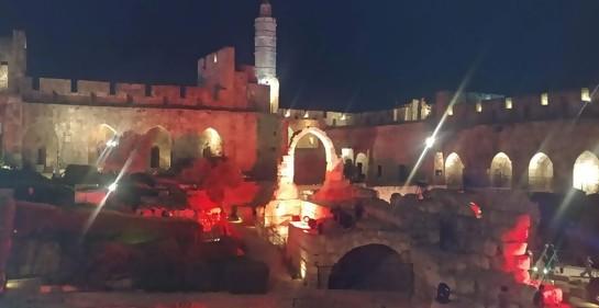 Videos de una noche mágica en la Torre de David