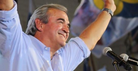 Con el Senador Jorge Larrañaga, pre candidato a la Presidencia por el Partido Nacional