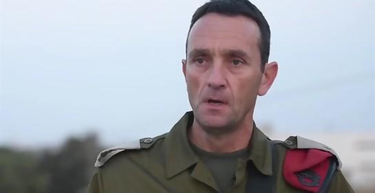 General Hertzi Halevi, jefe del Comando sur (Foto: Dover Tzahal