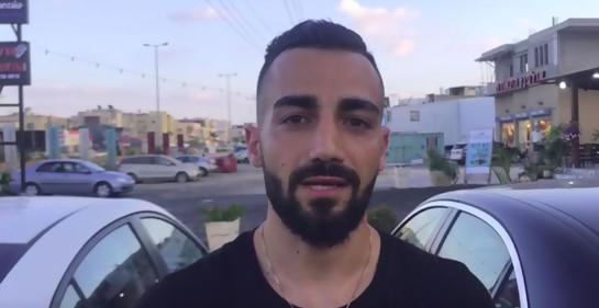 El futbolista árabe israelí Abdallah Jabbar, entre dos mundos.