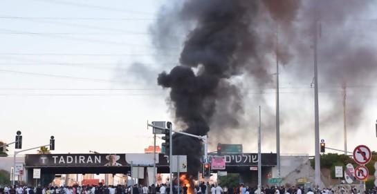 La protesta descontrolada de la comunidad israelí de origen etíope