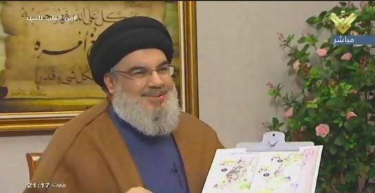 Hassan Nasrallah en entrevista Al Manar