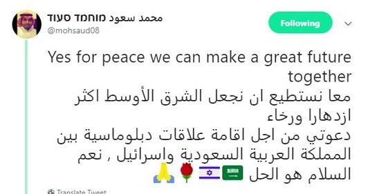 Palestinos atacan a bloguero saudita pro israelí cuando visita Monte del Templo