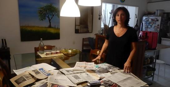En memoria de mi madre, Susy Kreiman,  asesinada en la AMIA