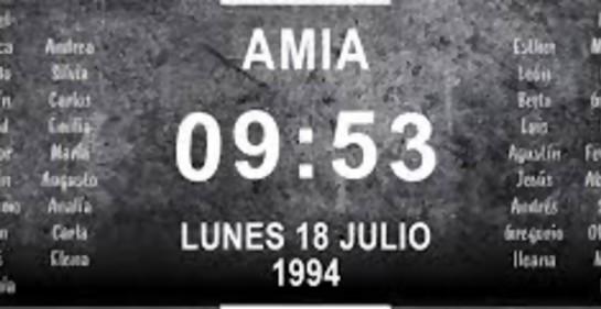 Historia para atesorar en el 25° aniversario del atentado en AMIA