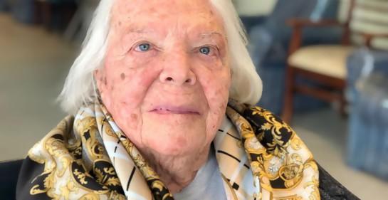 Virginia Pavlotzky en el Hogar Israelita