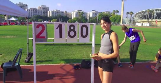 Hanin Nasser, campeona árabe israelí en salto alto, entre el odio y el abrazo