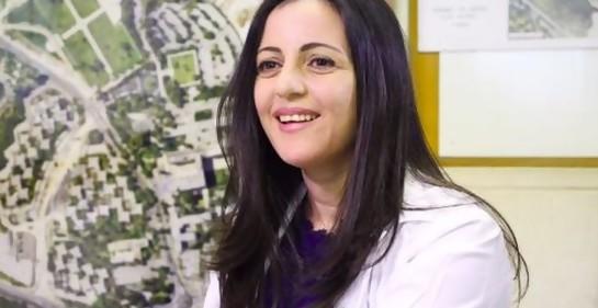 Dr Shaden Salameh, jefa de la Emergencia en Hadassah Monte Scopus