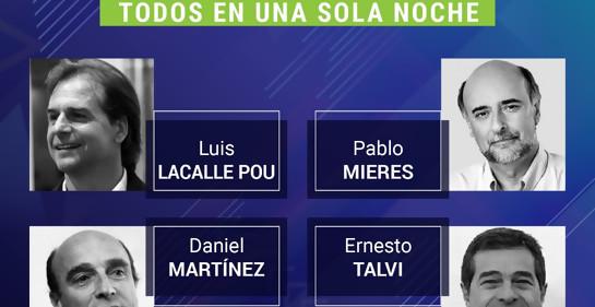 ¿Qué les preguntarías a los Candidatos a Presidente de Uruguay?