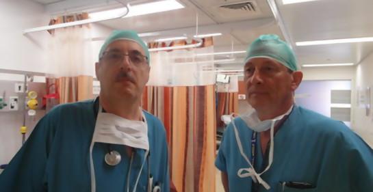 Las vivencias de dos médicos sudamericanos en el hospital al alcance de Hamas