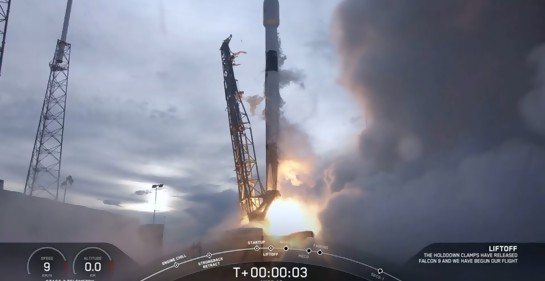 El lanzamiento desde Cape Canaveral (Foto: SpaceX)