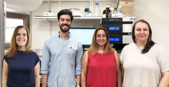 Florindo, Conniot, Sachi-Faniaro y Scompari en el laboratorio