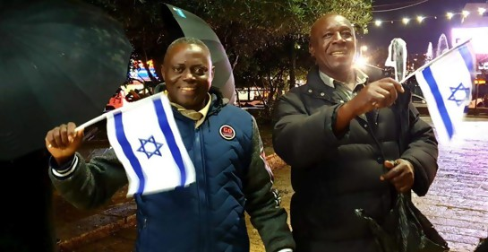 Becarios africanos visitando Israel
