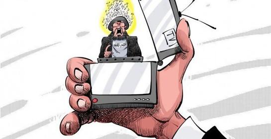 La mano del encendedor del que salta Nasrallah, dice