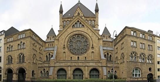 60 años de la re-inauguración de la Sinagoga de Colonia  en Alemania