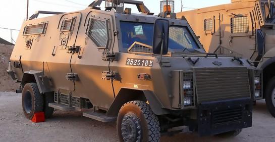 Este era el tipo de vehículo que casi es alcanzado por Hizbala, un blindado Zeev (Foto: Wikimedia commons)