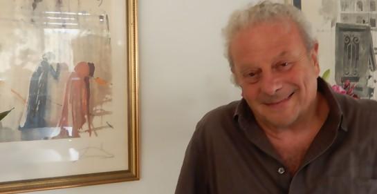 Daniel Limor en su casa