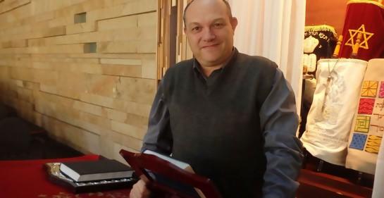 Con el Rabino Daniel Dolinsky de la NCI
