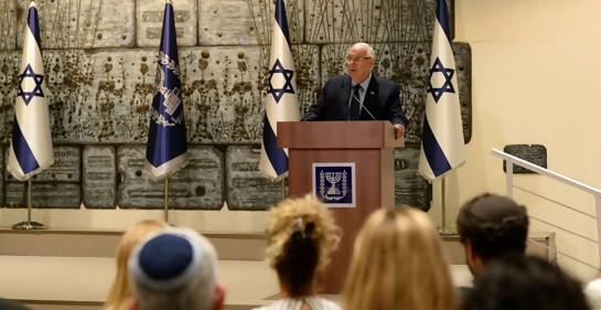 El mensaje de unión judía, desde Beit HaNasi