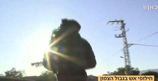 Hizbala dispara cohetes hacia el norte de Israel