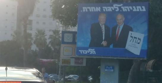 ¡Estamos rodeados!...de carteles de campaña electoral