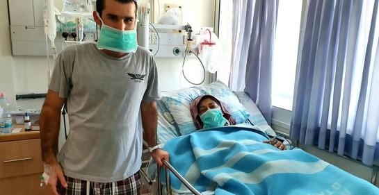 Idó, israelí judío, donó un riñón a Hanan, israelí árabe musulmana