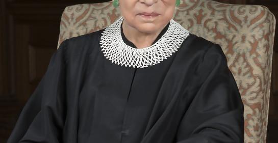 La juez Ruth Bader Ginsburg, galardonada con el premio de Filosofía y Cultura del Instituto Berggruen
