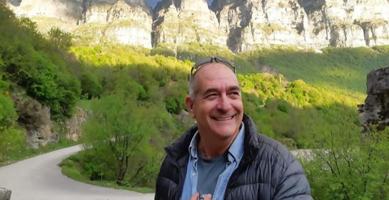 Vidas Uruguayas en Israel. Con el Ing. mecánico Gustavo Kronenberg
