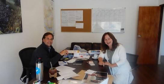 Entrevistando a Luis Lacalle Pou