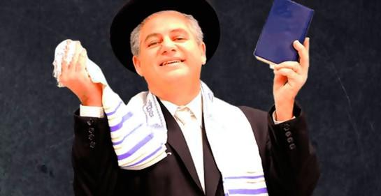 Claudio Konfino, haciendo reir en Israel