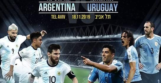 Comenzó la locura. Se lanzó la venta de entradas para el partido Uruguay-Argentina en Tel Aviv