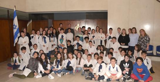 El Centro Recordatorio del Holocausto en Uruguay y las escuelas públicas