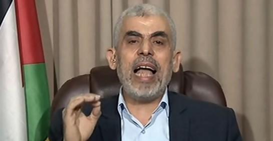 Yehia Sinwar, jefe de Hamas (Captura pantalla Al Jazeera