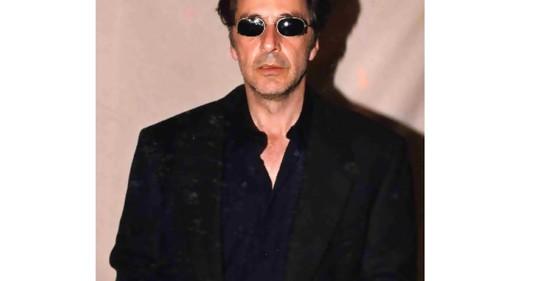 Al Pacino es un cazador de nazis en una serie que estrenará Amazon