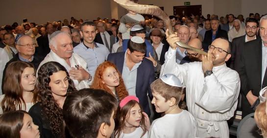 El Rabino Max Godet al terminar Iom Kipur