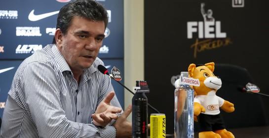 Sánchez, el Presidente de Corinthians (Foto: Rodrigo Gazzanel/Agencia Corinthians)