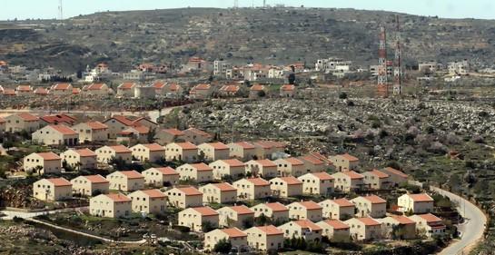 Una vista del asentamiento de Ofra (Foto: Ariel Jerozolimski)