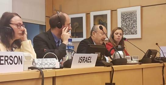 Alto oficial árabe musulmán de la Policía representó a Israel ante la ONU en Ginebra
