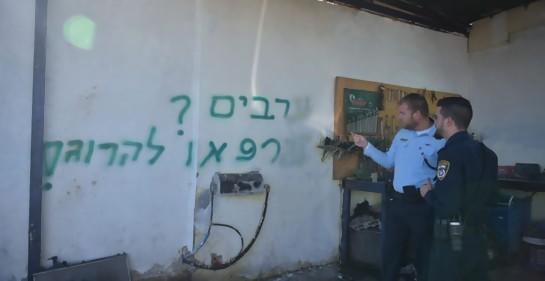Preocupa incremento de vandalismo contra poblados árabes