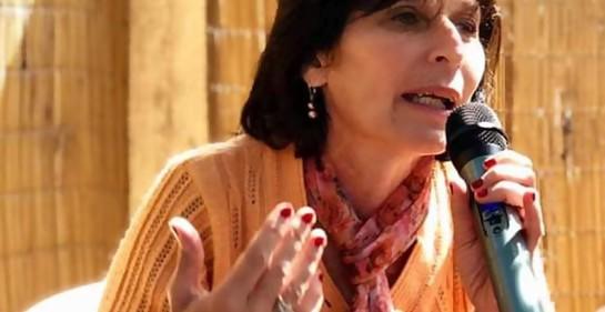 Con la Profesora Dinorah Gandelman, que representa a la colectividad judía uruguaya en el Certamen mundial de Tanaj en Israel.