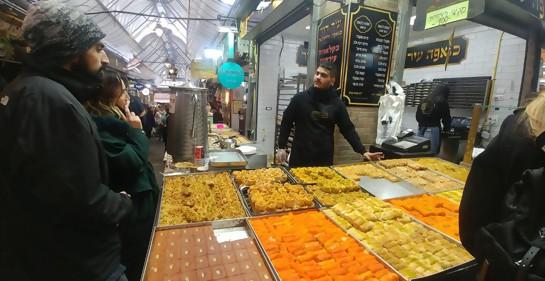 Deliciosa tarde invernal en el mercado Majane Yehuda