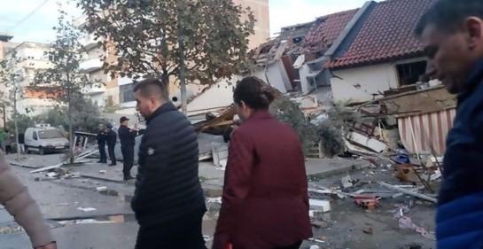 Entrevista al Jefe de la Unidad Nacional de Rescate israelí, hoy en uno de los focos del terremoto en  Albania