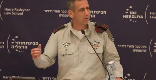 Las advertencias del jefe de Tzahal sobre los peligros que rodean a Israel