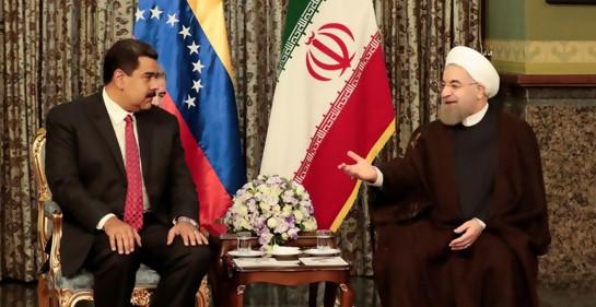 Maduro y el Presidente de Irán, patrón de Hezbola (Foto:Palacio Miraflores, via Reuters)