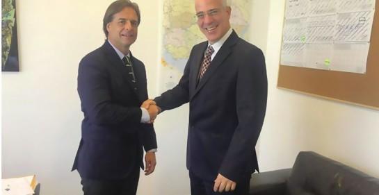 Importante intercambio de mensajes entre el Presidente electo Lacalle Pou y el Premier israelí Netanyahu