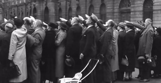 Escena histórica tomada del video