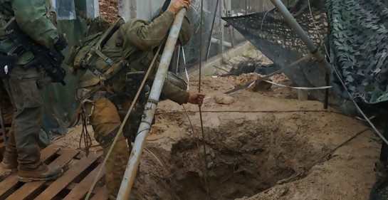 Israel instala en la frontera con Líbano tecnología para detectar túneles