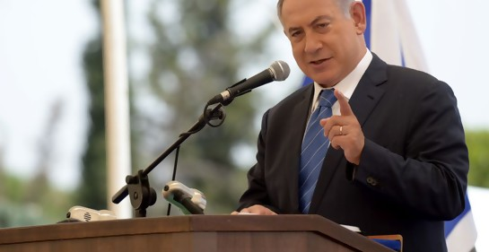 El Premier Netanyahu (Foto: Amos Ben Gershom, GPO)